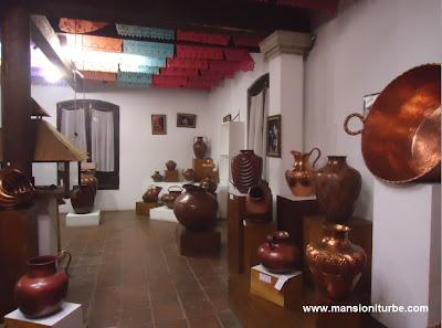 Copper Museum in Santa Clara del Cobre Michoacan