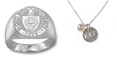 college greek life necklace gift