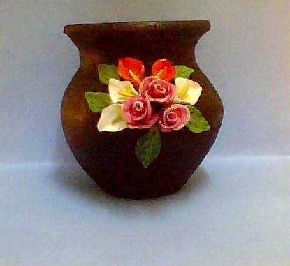 Anitakumarcrafts Ceramic Pot Decoration