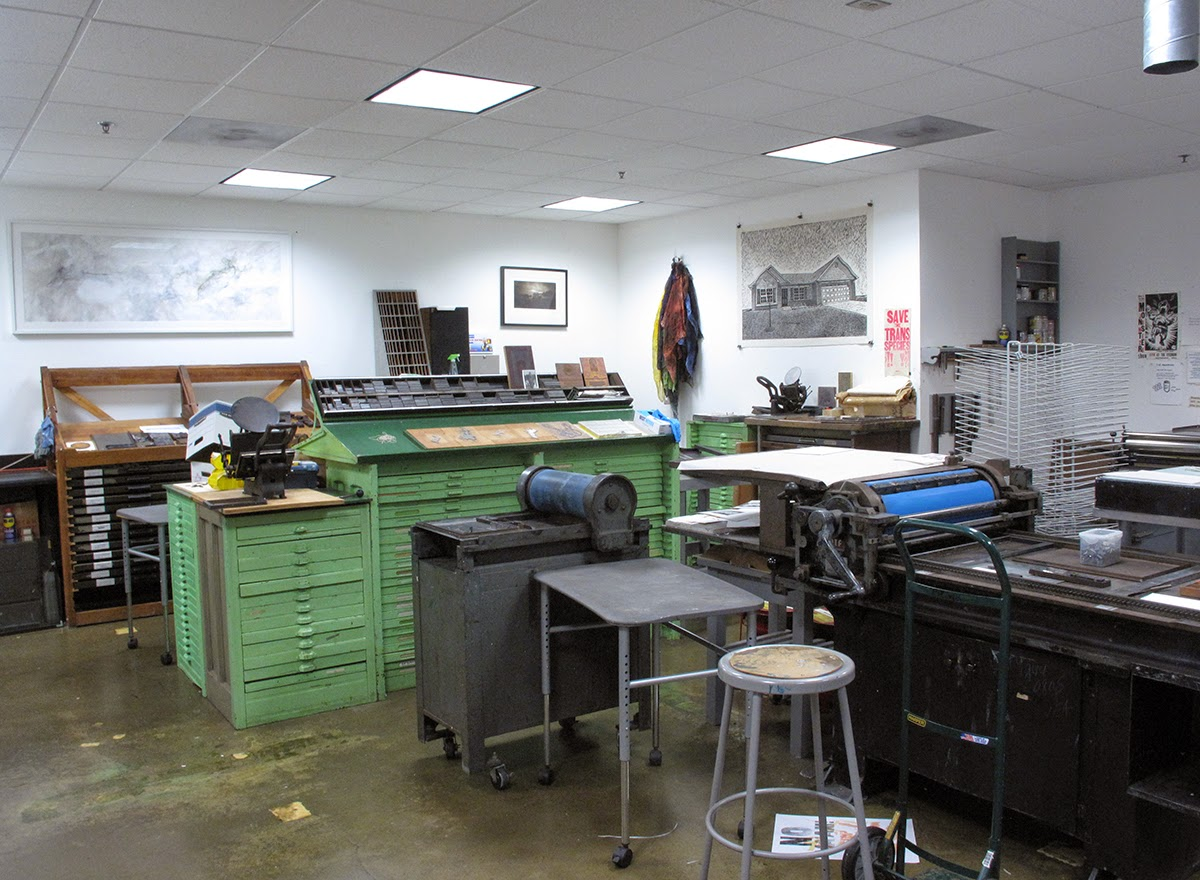 Below Are Some Pictures Of The Atlanta Printmaking Department For More Information Please Contact Chair Robert Brown Rtbrown Scadedu