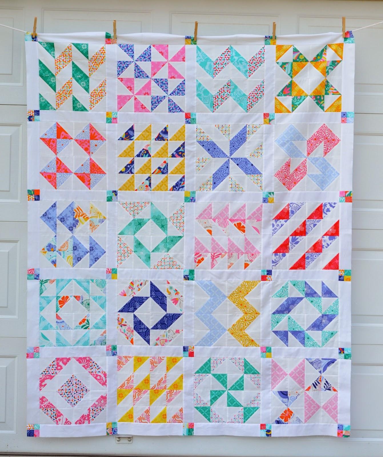 Layer Cake Quilt Pattern Ideas : Hyacinth Quilt Designs: Layer Cake Sampler QAL