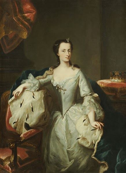Princess Mary of Great Britain by George Desmarées