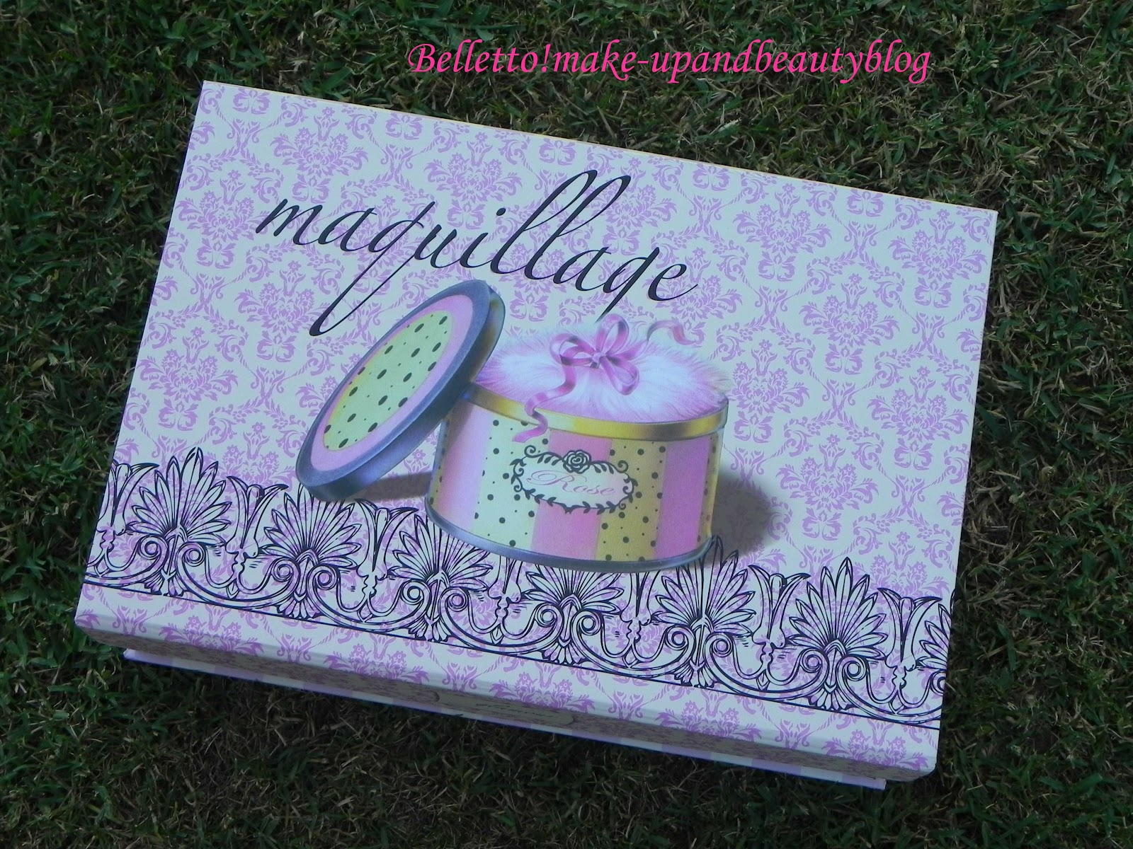 Belletto make up and beauty blog le mie nuove scatole - Scatola porta trucchi ...