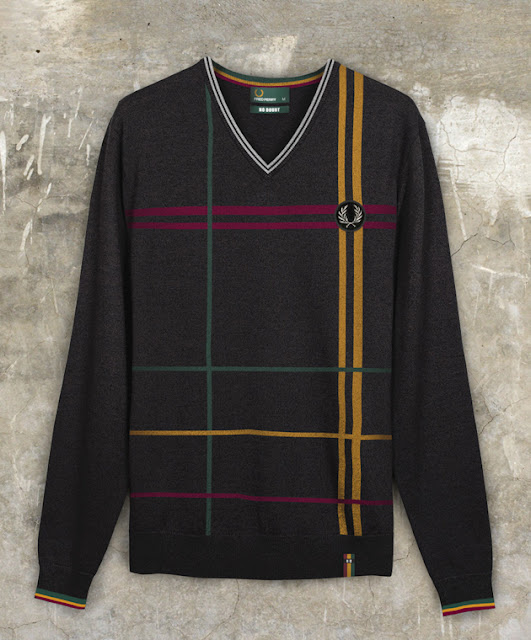 Fred Perry x No Doubt Collaboration: Colourful Jumper