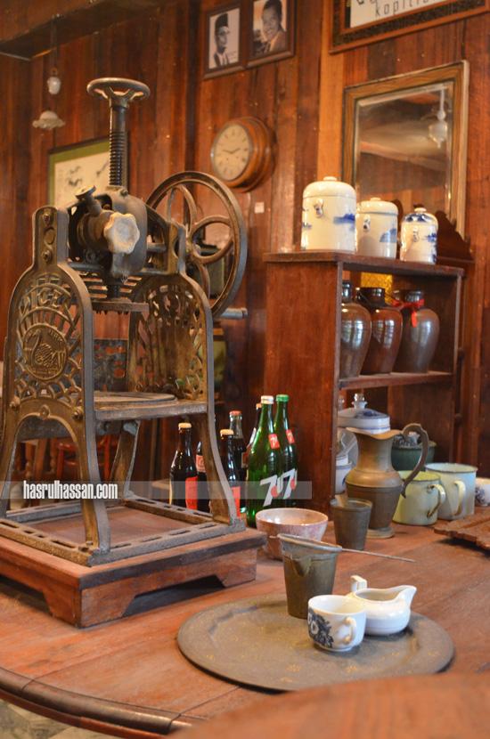 Things in Heritage House Muzium Gopeng Perak Malaysia