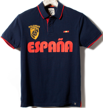 polo España Eurocopa 2012 Pull and Bear