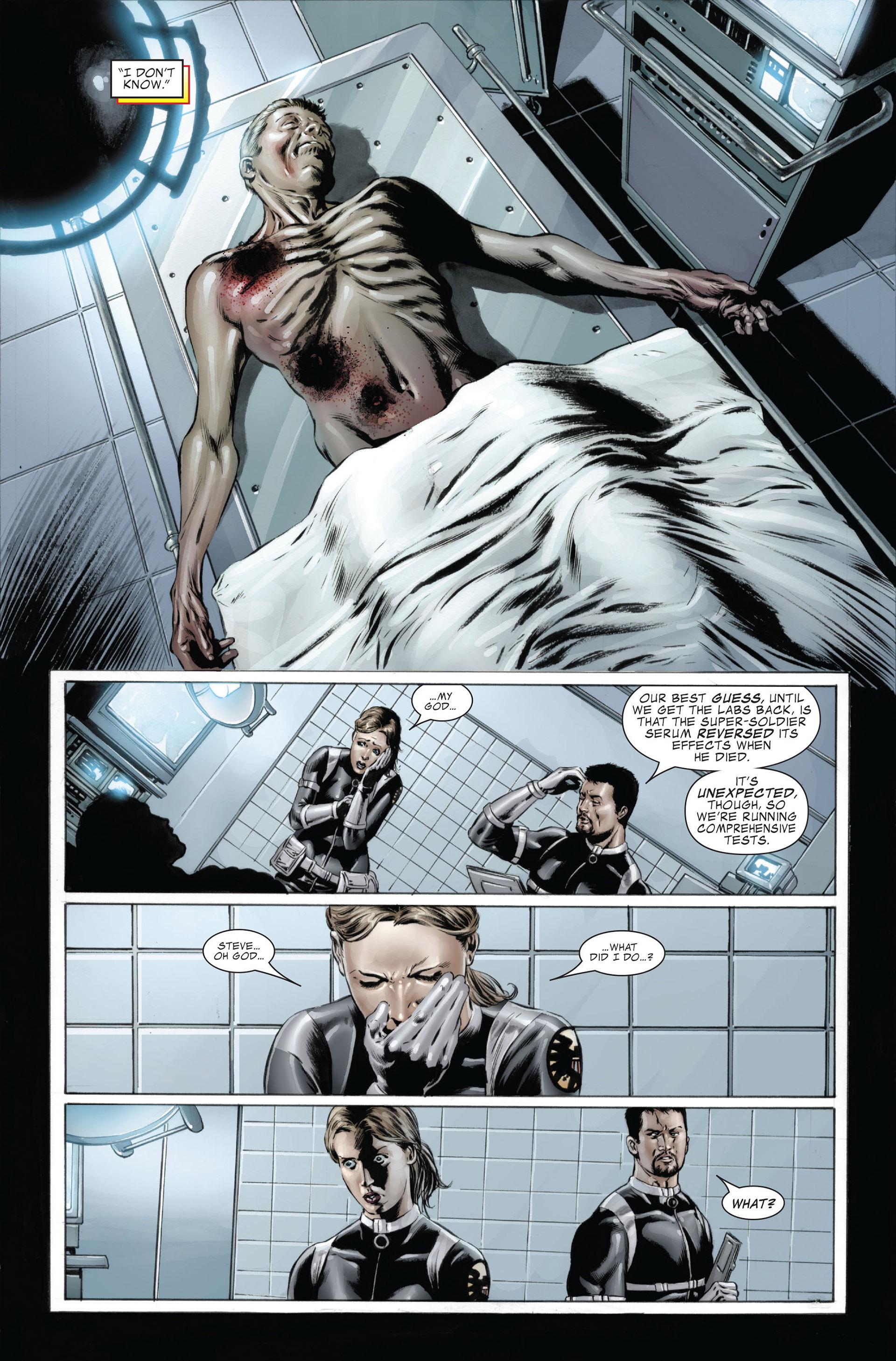 Captain America (2005) Issue #26 #26 - English 5