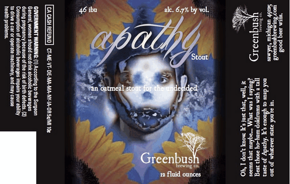 Greenbush Apathy label