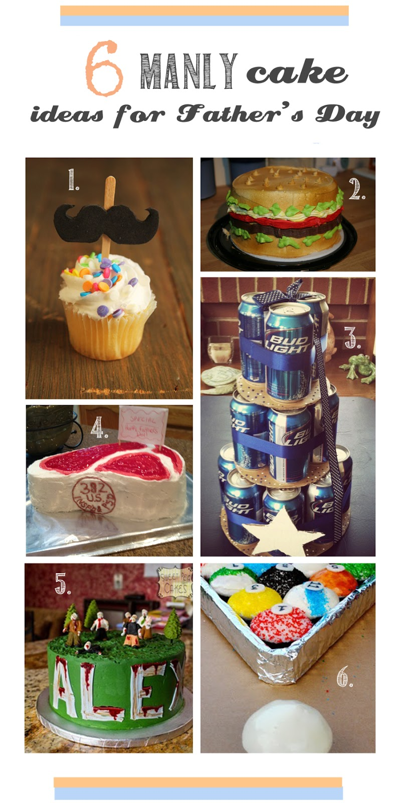 Jill And The Little Crown Fathers Day Cake Ideas