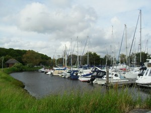 Disabled Travel Easy Access Walk at Chichester Marina, Sussex