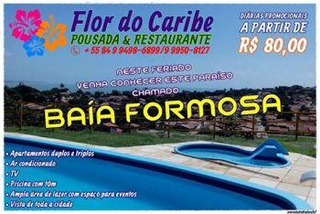 POUSADA E RESTAURANTE FLOR DO CARIBE