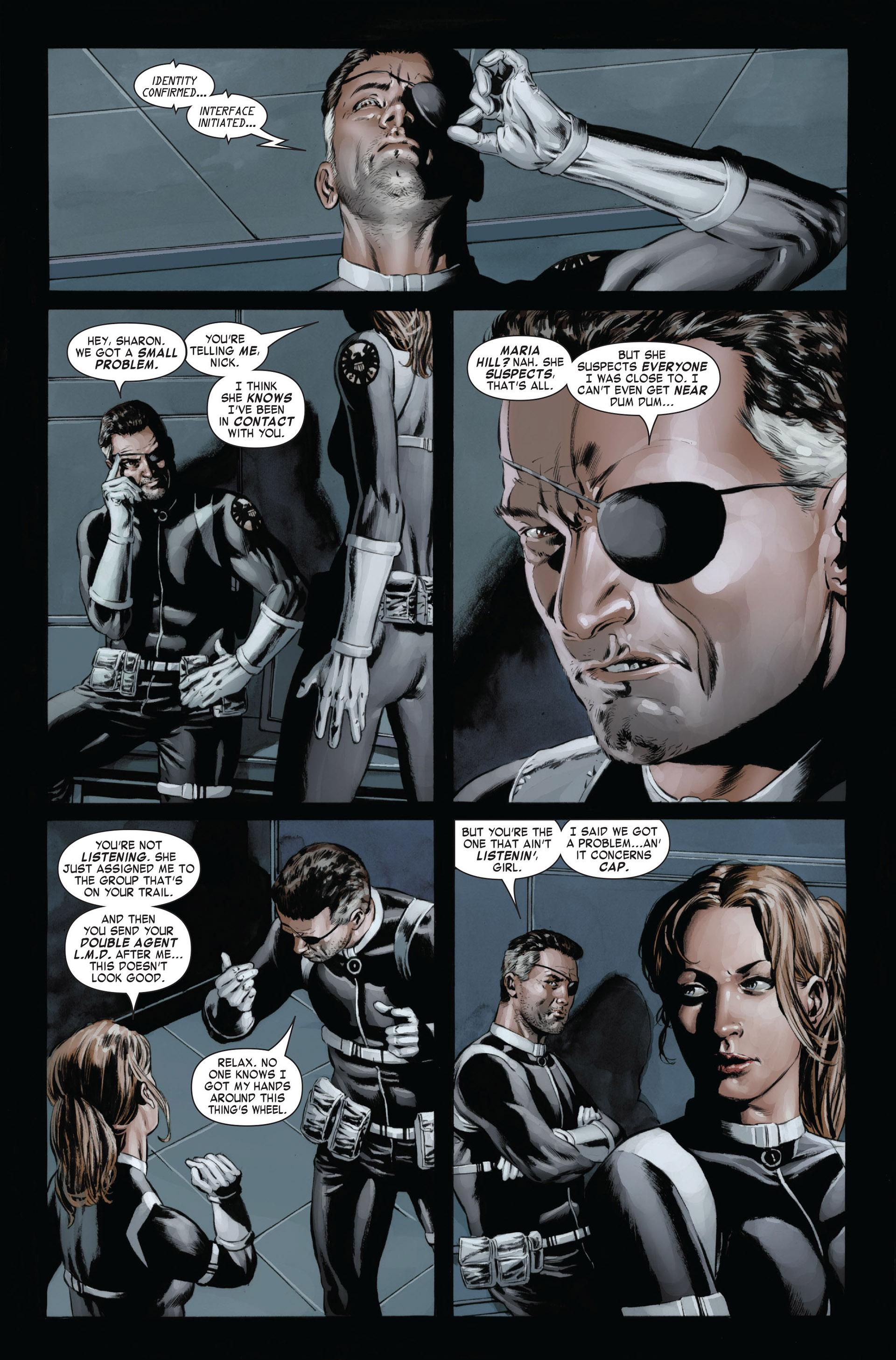 Captain America (2005) Issue #24 #24 - English 5