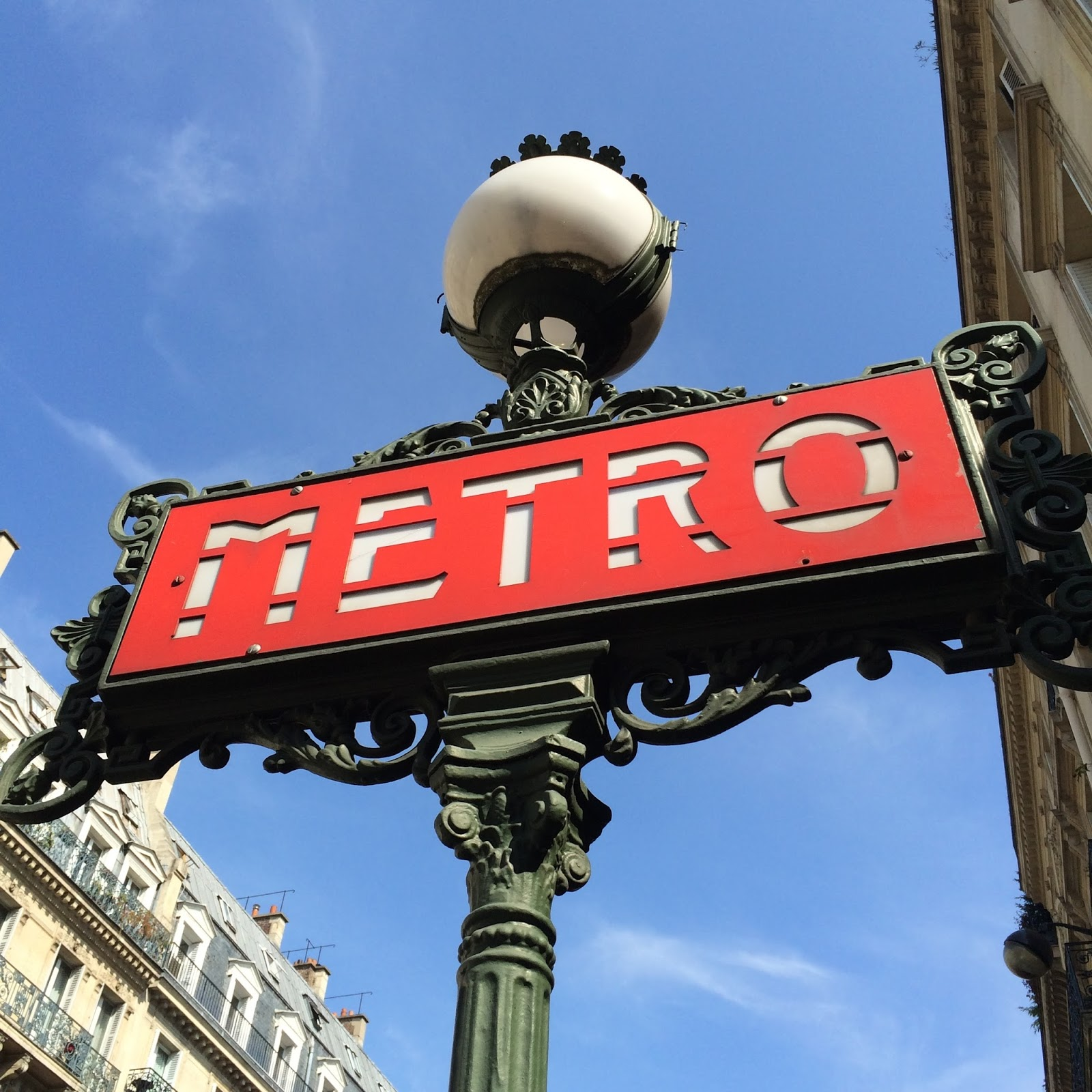 smukt metroskilt