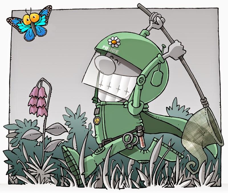 Superpoliceman de l'environnement