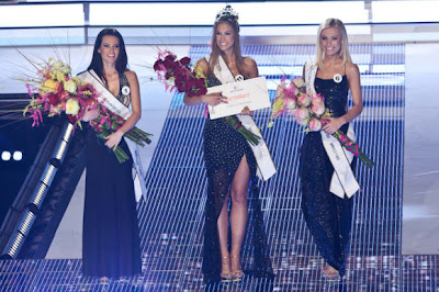 Top 3 Miss Universe Slovak Republic 2012