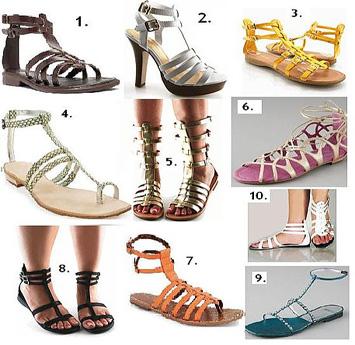 model sandal anak muda perempuan abg jaman sekarang