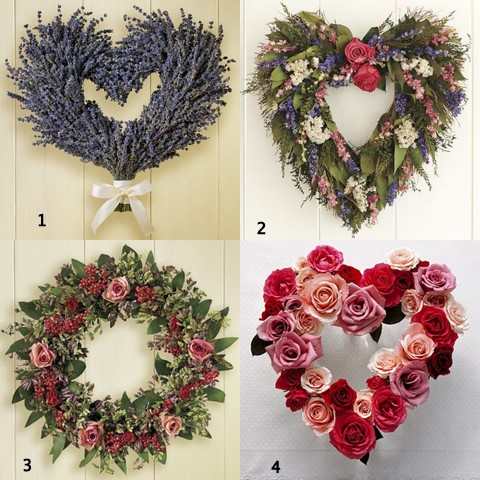 Valentine Flower Arrangements on The Nesting Project  Floral Valentine Wreaths Vs Floral Arrangements
