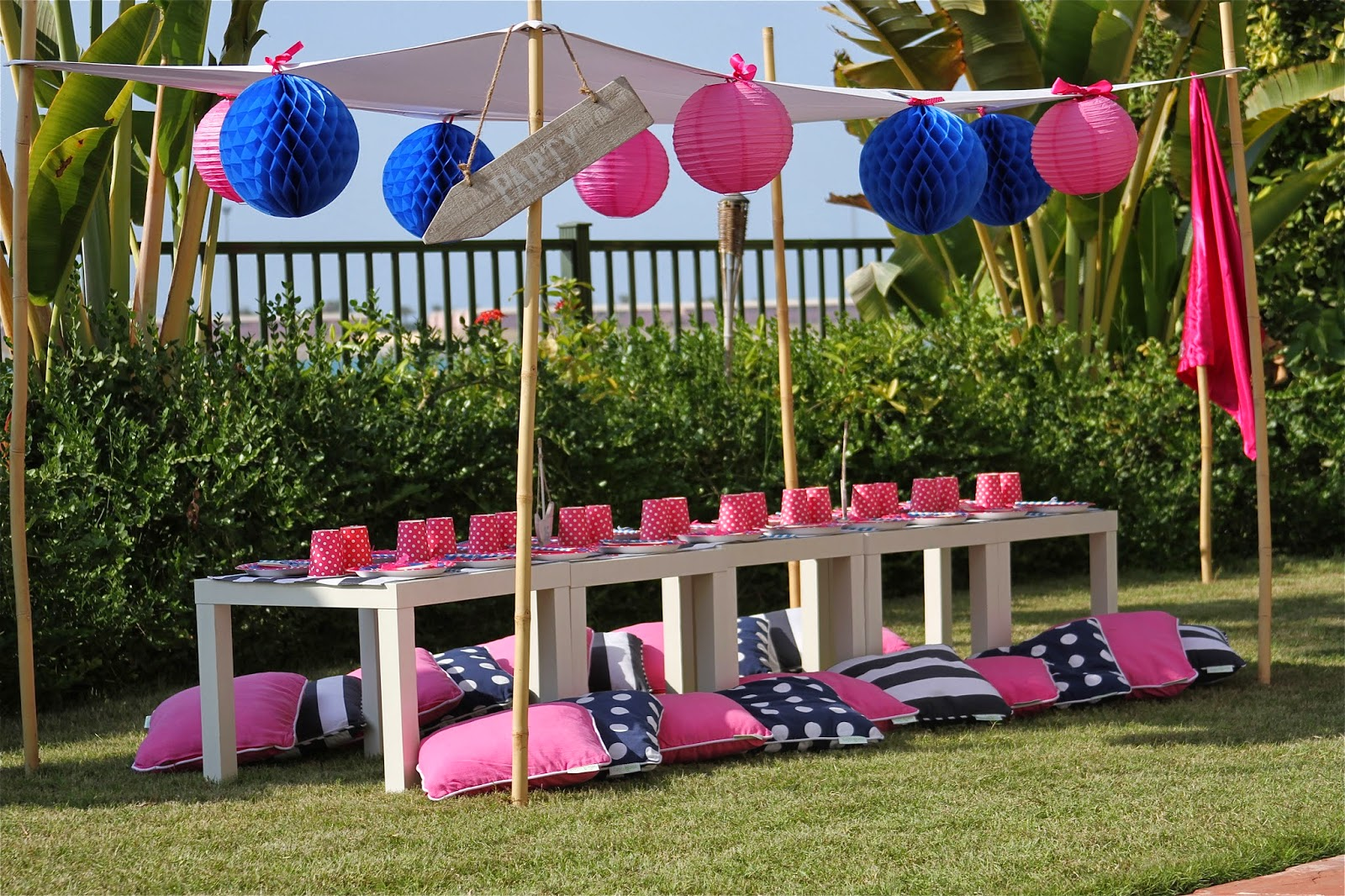 Thaynara lopes blog ideias para festa na piscina poolparty for Piscina party