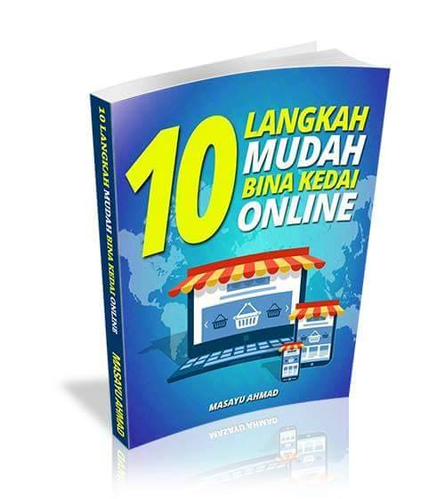 10 Langkah Mudah Bina Kedai Online