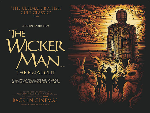 The Wicker Man Final Cut Quad Poster