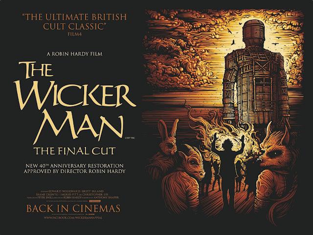 The Wicker Man Final Cut Quad Poster