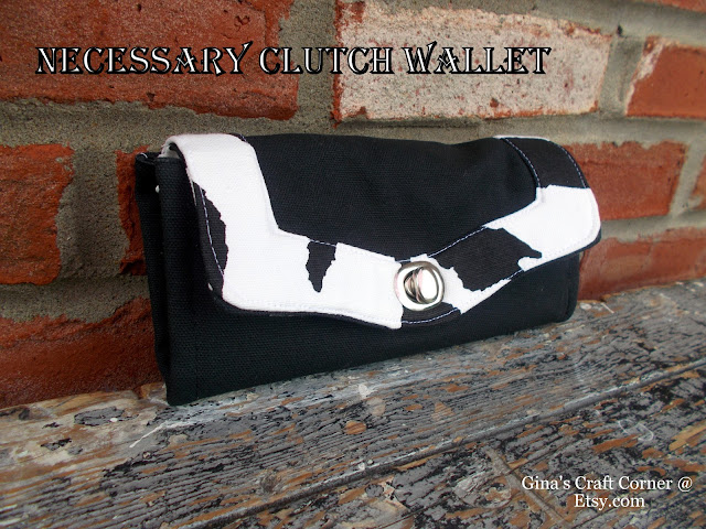 Wallet to match your CCW purse at GCCginascraftcorner on Etsy.com