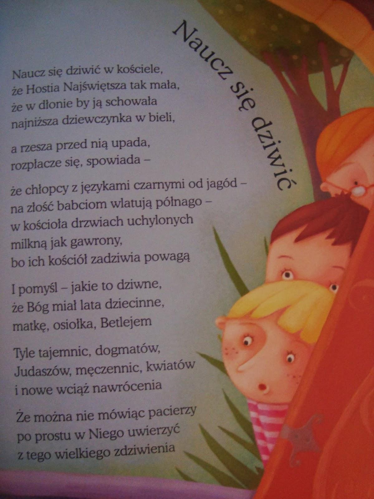 wiersze nie tylko dla dzieci, ks. Twardowski, recenzja, muza