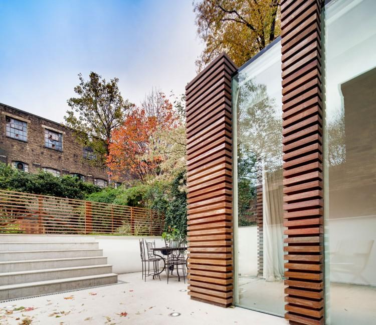 Scrapbook duncan terrace dos architects london for Terrace fence