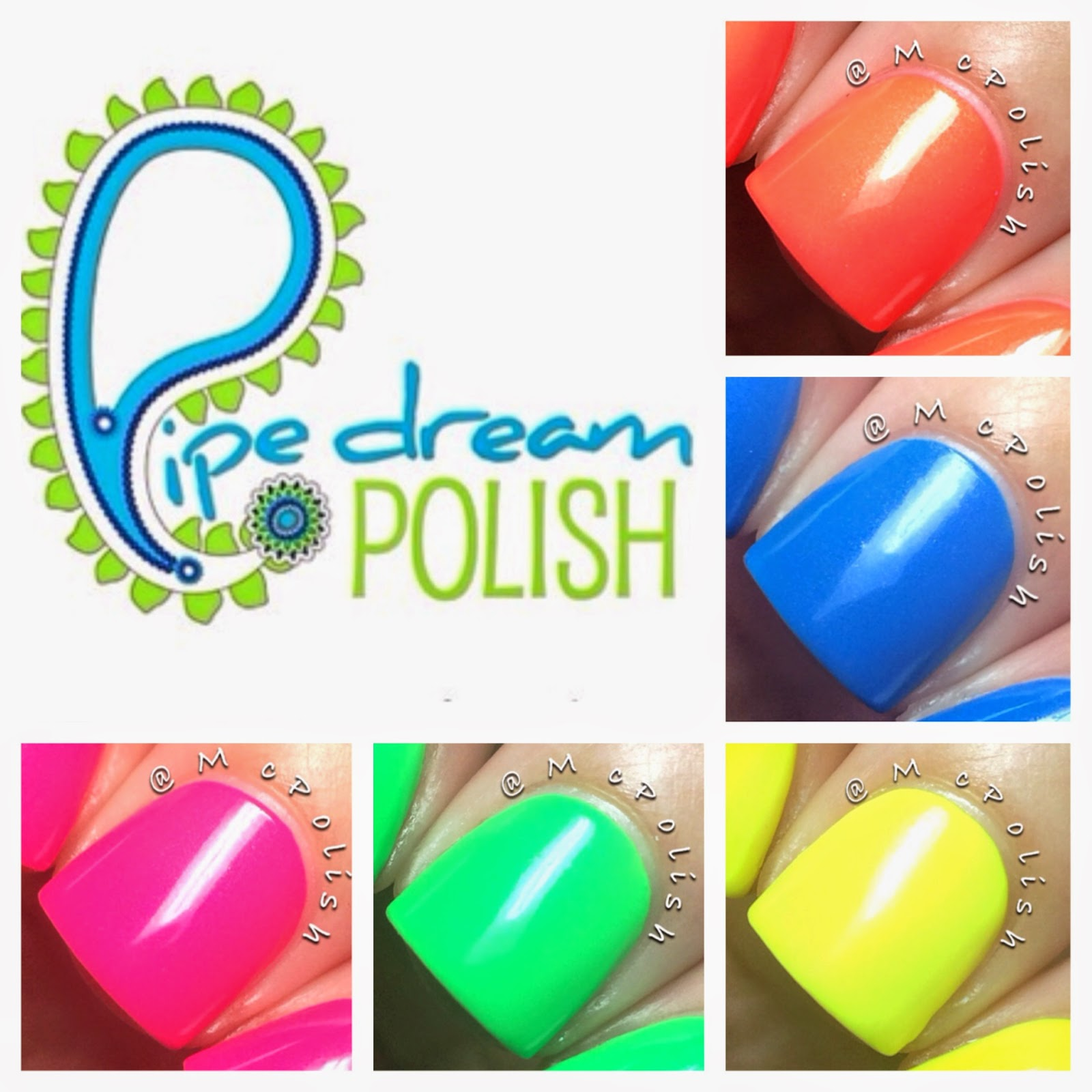 Pipe Dream Polish - A Night in Vegas Neons