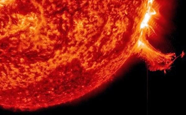 Badai Matahari kembali Terjadi, Namun Tidak Mengarah ke Bumi