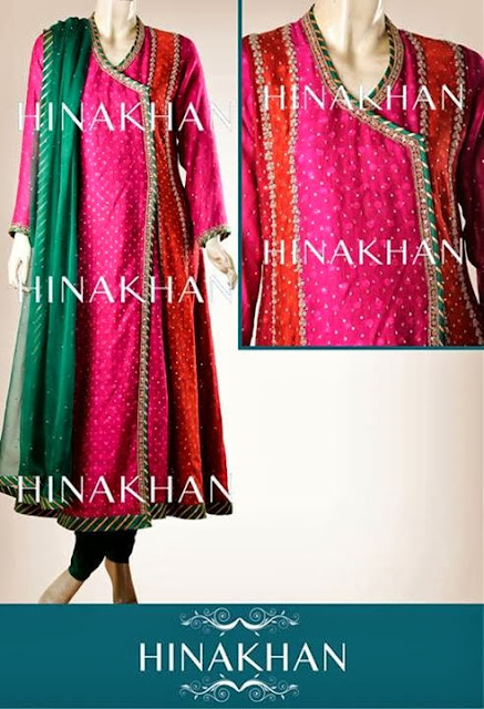 Women Dresses 2013-2014 | Hina Khan Latest Women Dresses 2013-2014 By Fashion She9