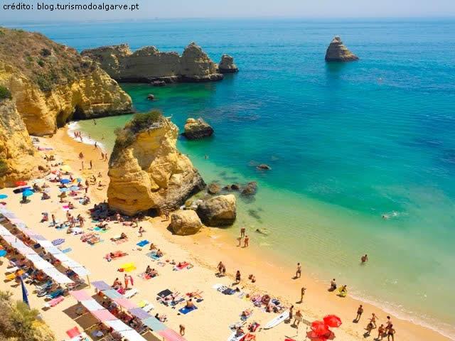 Praia, Beach  Dona Ana Lagos, Algarve, Portugal