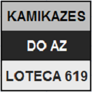 LOTECA 619 - MINIATURA KAMIKAZE