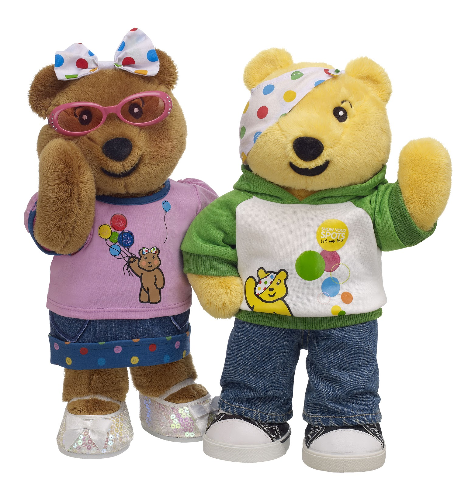 Build A Bear Pudsey Clothes