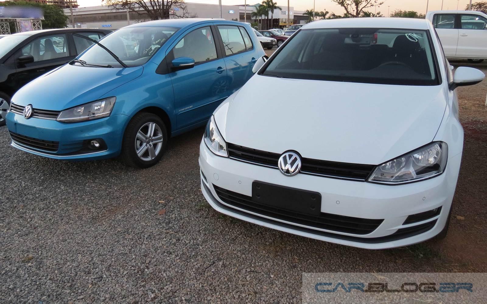 VW Golf Highline 2014 - básico