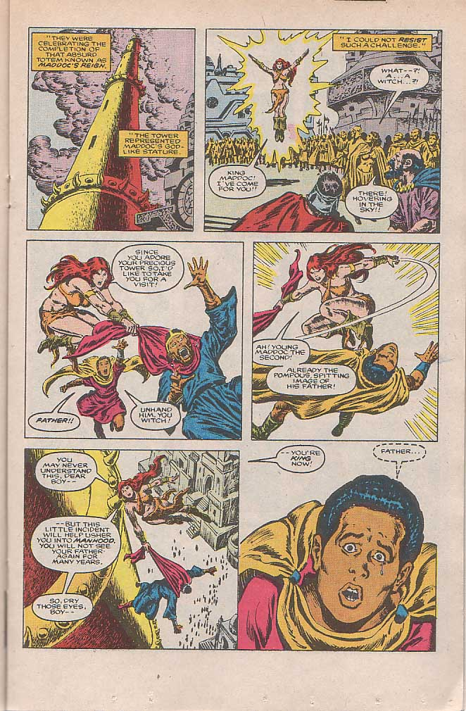 Conan the Barbarian (1970) Issue #185 #197 - English 12
