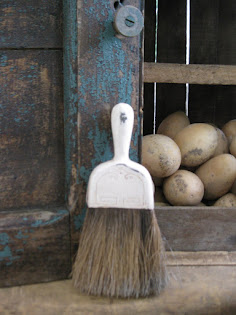 metal top whisk broom