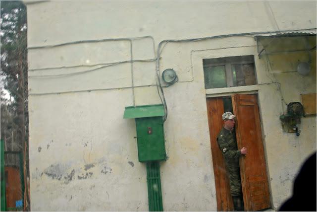 В районе контрольно-пропускного пункта №3 ВВ МВД РФ по охране ЗАТО г.Снежинск.