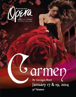 Pensacola Opera Company 2014 Productions Carmen