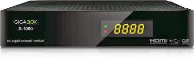 ATUALIZAÇÃO  GIGABOX S1000 V 1.5.8 - 05/02/2014