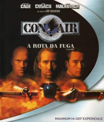 Con Air: A Rota da Fuga Torrent - BluRay 720p/1080p Dual Áudio