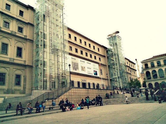 Experiencia Eric Vökel Atocha- Museo Reina Sofía