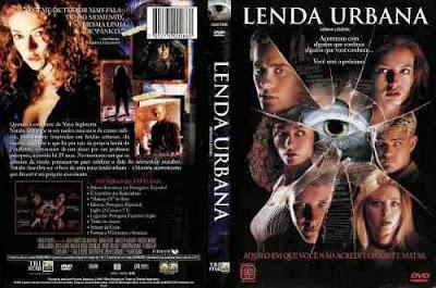 Filme Lenda Urbana DVD Capa