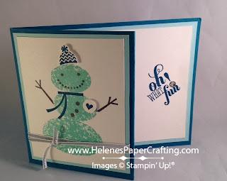 Snowman Gift Card 2