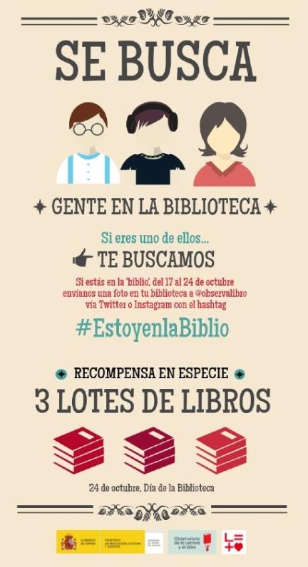 Campaña #EstoyenlaBiblio