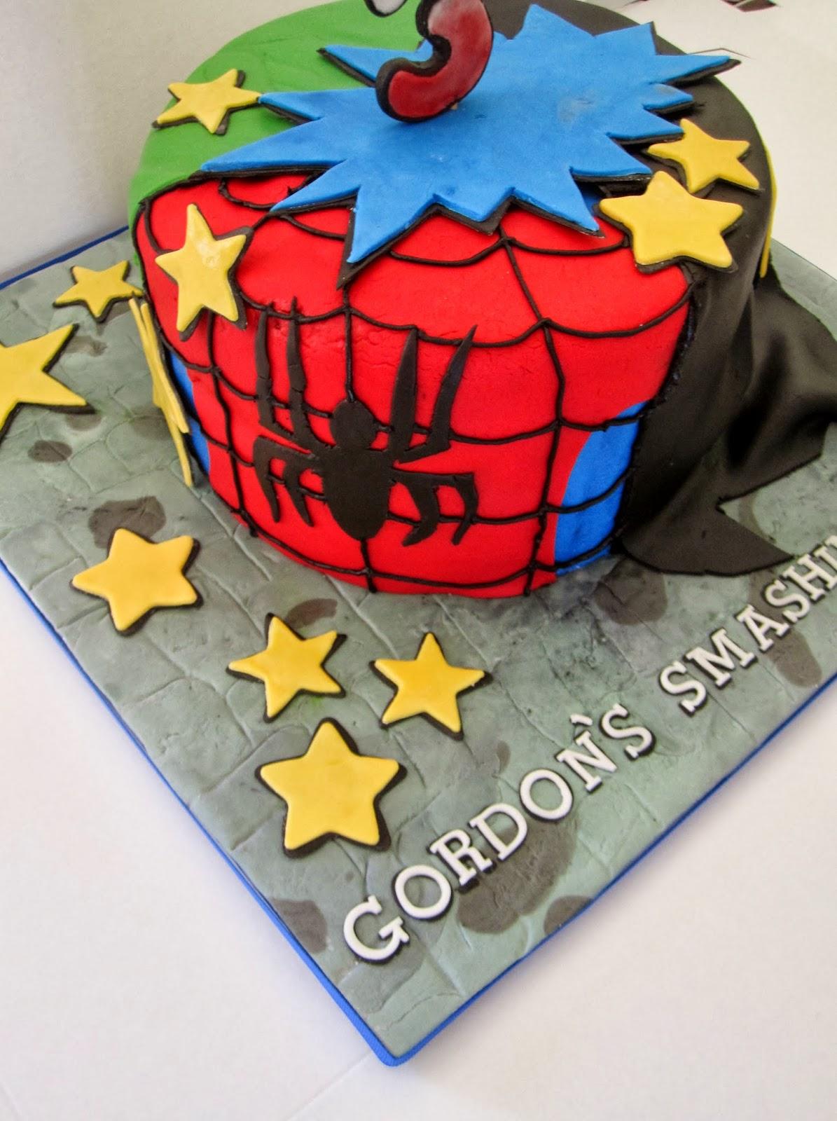 CakesOr Something Like That Super Hero Birthday Cake The Hulk