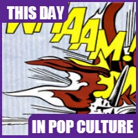 Roy Lichtenstein's most popular painting, Whaam! was displayed for the first time on September 28, 1963.