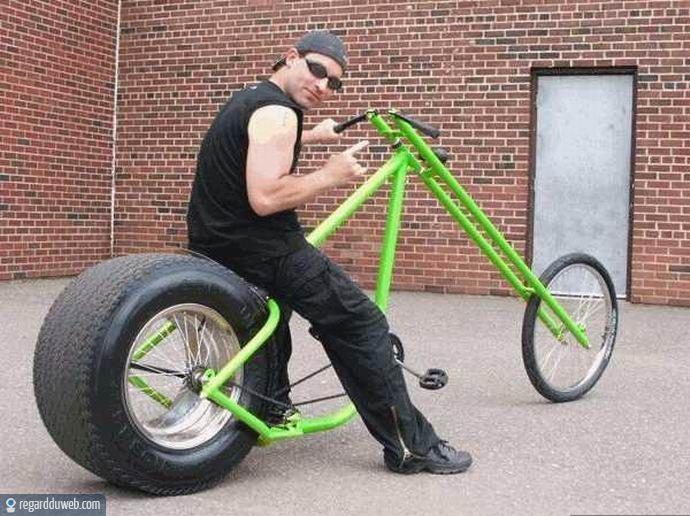 Photos drôles et incroyables Transport - Vélo v17 - Des ...