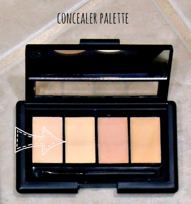 elf concealer palette in light
