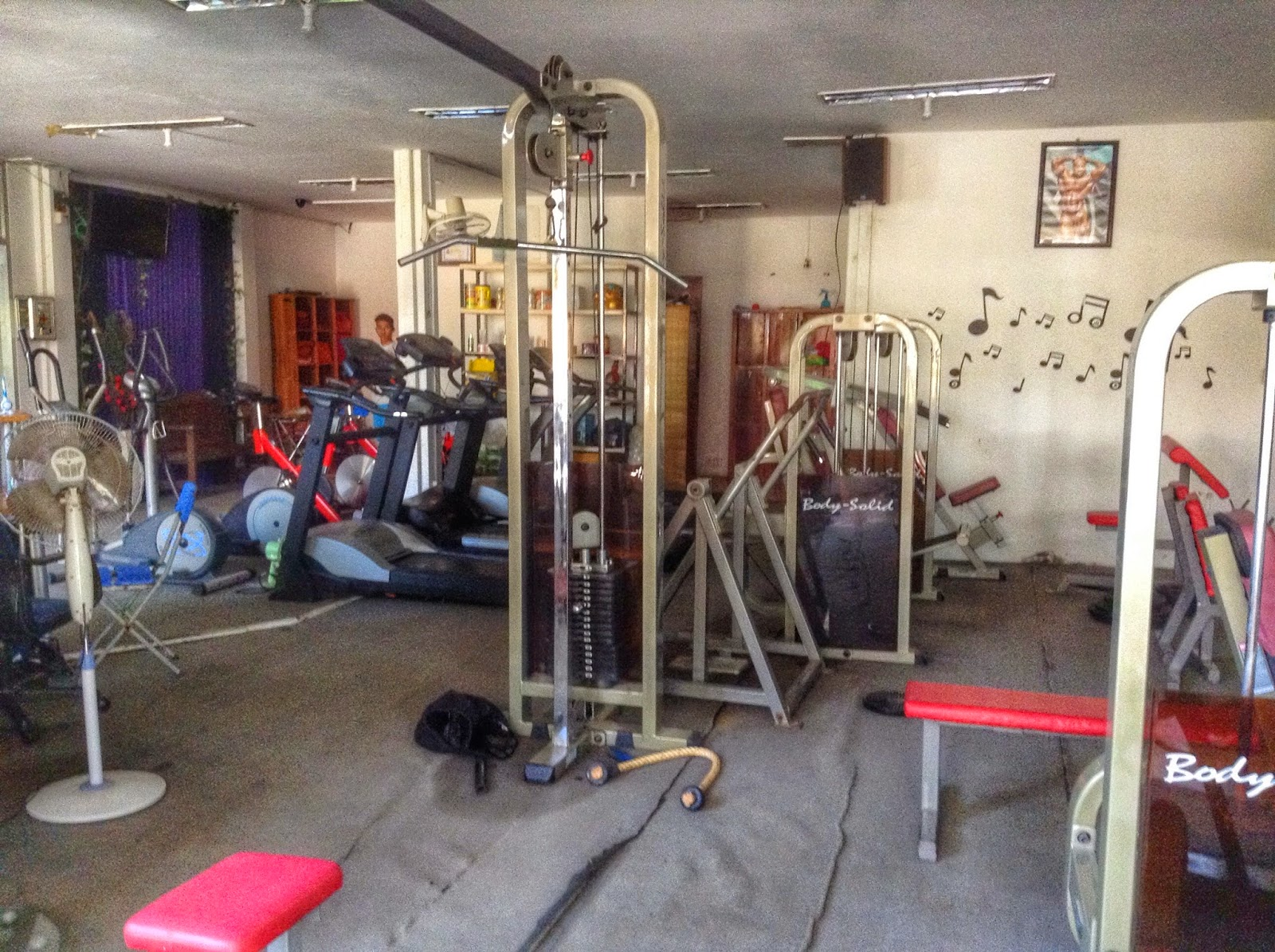 Gym in Phnom Penh, Cambodia - V-Friend Gym
